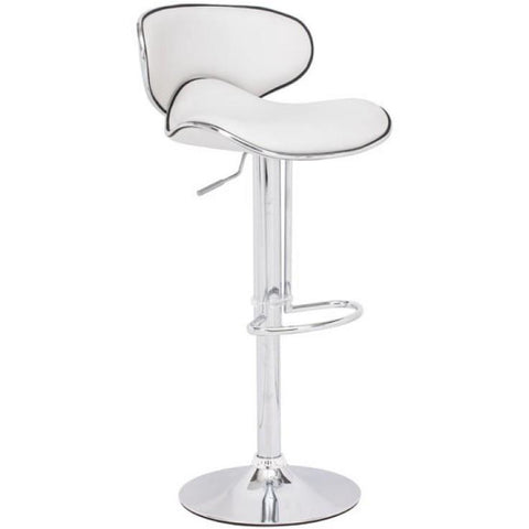 Zuo Modern Fly Bar 300131 White Chair - Pankour