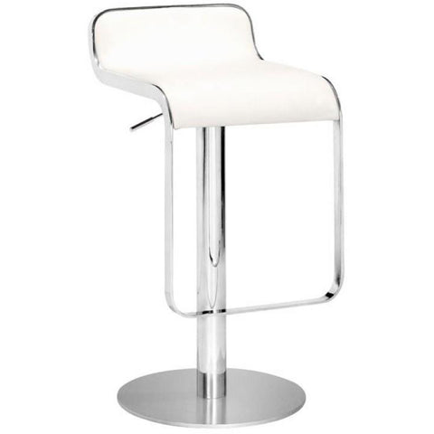 Equino 301113 Barstool White With Comfort and style