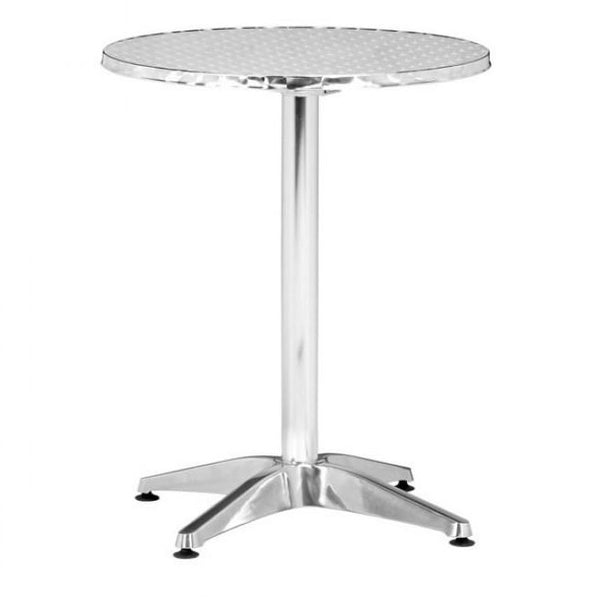 ZUO Modern Christabel Folding Table Aluminum 700602 Dining Tables - Pankour