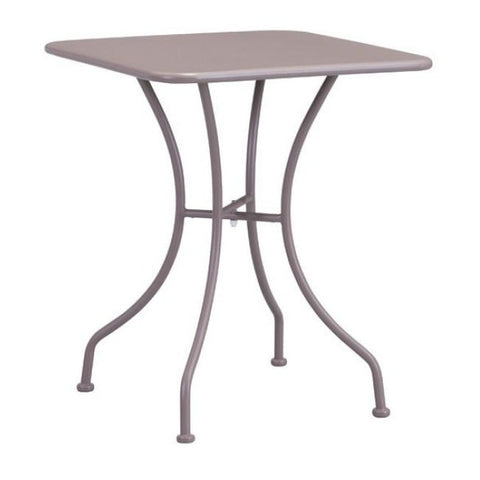 ZUO Modern Oz Dining Square Table Taupe 703605 Dining Tables - Pankour