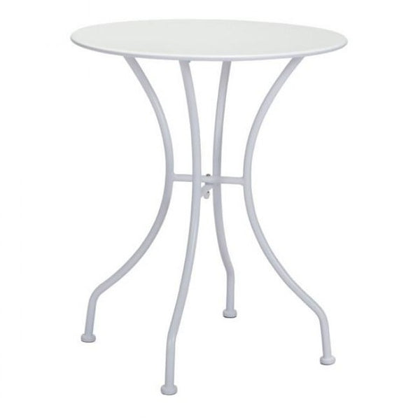 ZUO Modern Oz Dining Round Table White 703606 Dining Tables - Pankour