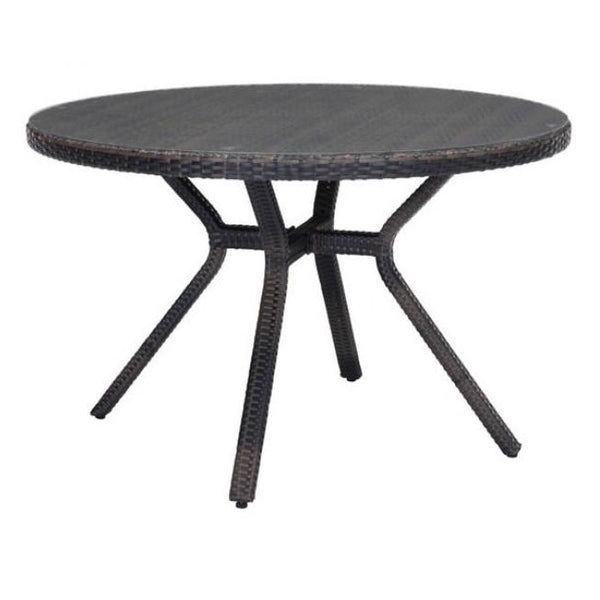 ZUO Modern Mendocino Dining Table Brown 703832 Dining Tables - Pankour