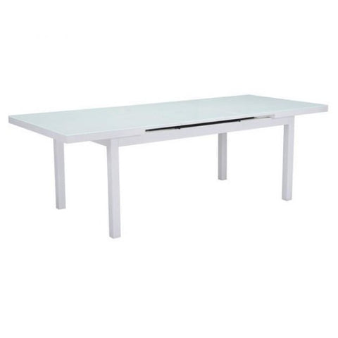 ZUO Modern Mayakoba Dining Table White 703844 Dining Tables - Pankour