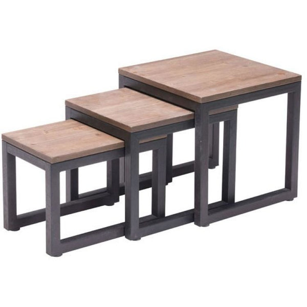ZUO Modern Civic Center Nesting Tables 98121 Living Side Table/Consoles - Pankour