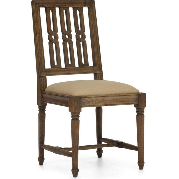 ZUO Modern Excelsior Chair Distressed Natural 98152 Dining Chair - Pankour