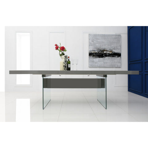 Casabianca Il Vetro Collection CB-111-G-Table Extendable Dining Table - Pankour
