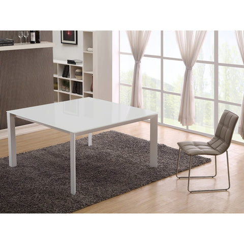 NAPLES Collection Glass  Dining Table CB-8740 by Casabianca Home - Pankour
