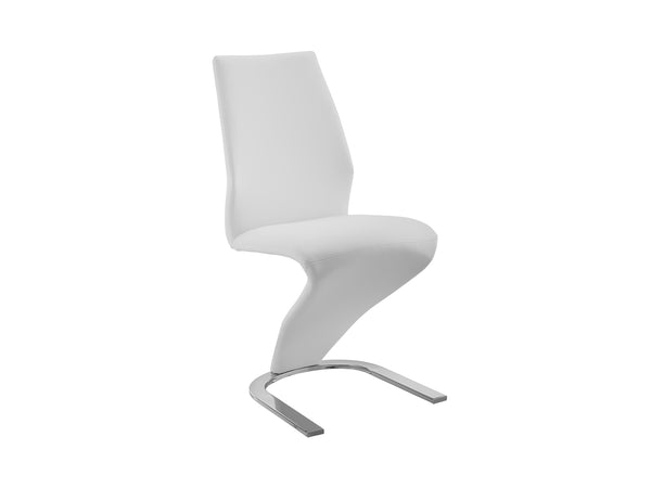 Casabianca Home BOULEVARD CB-6606-W Dining Chair White Eco-leather - Pankour