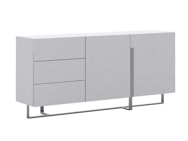 Casabianca Home COLLINS CB-1302B Buffet High Gloss White Lacquer - Pankour