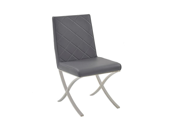 Casabianca Home LOFT CB-922-G Dining Chair Gray Eco-leather - Pankour