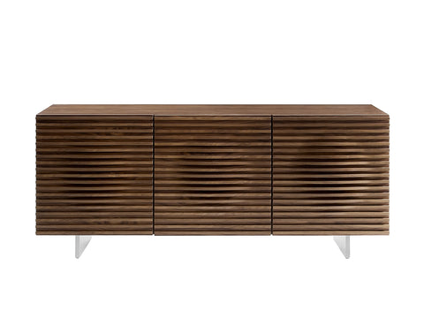 Casabianca Home MOON CB-3776-WAL Buffet Walnut Veneer - Pankour