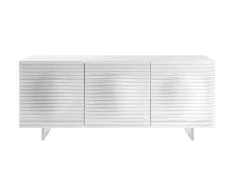Casabianca Home MOON CB-3776-WH Buffet High Gloss White Lacquer - Pankour