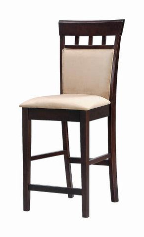 Coaster Furniture 100219 COUNTER HT STOOL MOCHA & CAPPUCCINO - Pankour