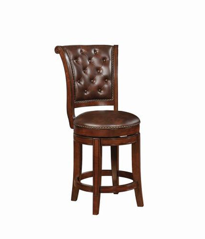 Coaster Furniture 102935 COUNTER HT STOOL BROWN - Pankour