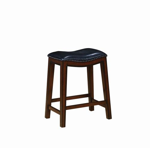 Coaster Furniture 122261 COUNTER HT STOOL BLACK & BURNISHED CAPPUCCINO - Pankour