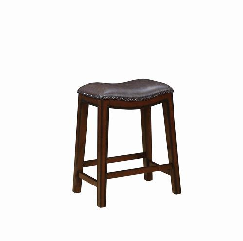 Coaster Furniture 122263 COUNTER HT STOOL BROWN & BURNISHED CAPPUCCINO - Pankour