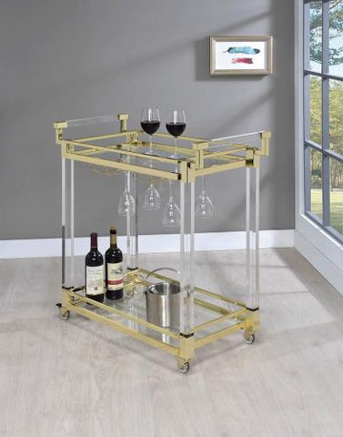 Coaster Furniture 181000 SERVING CART - Pankour