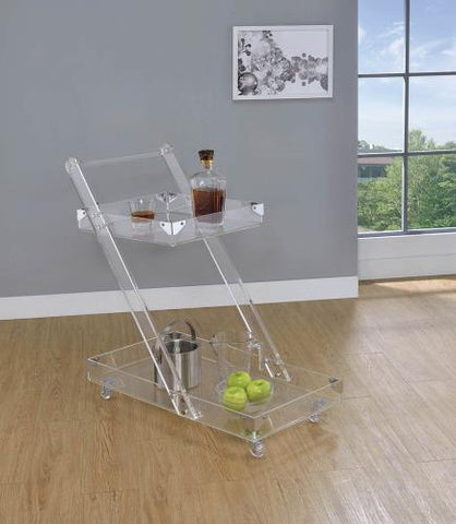 Coaster Furniture 181002 SERVING CART - Pankour