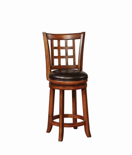 Coaster Furniture 182023 COUNTER HT STOOL BLACK & GOLDEN BROWN - Pankour
