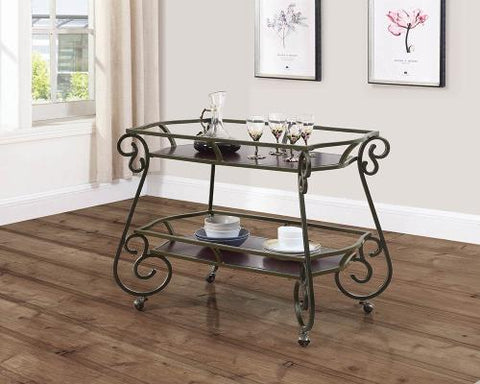 Coaster Furniture 910143 SERVING CART - Pankour