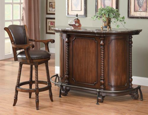 Coaster Furniture BAR UNITS: TRADITIONAL/TRANSITIONAL 100679 BAR STOOL - Pankour