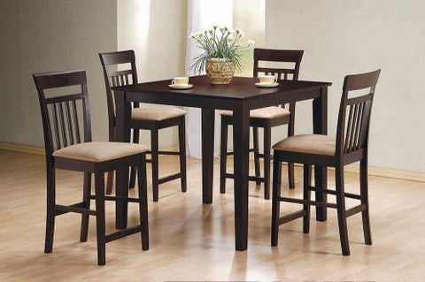Coaster Furniture COUNTER HEIGHT 150041 DINING SET - Pankour