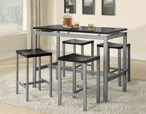 Coaster Furniture COUNTER HEIGHT 150095 DINING SET - Pankour