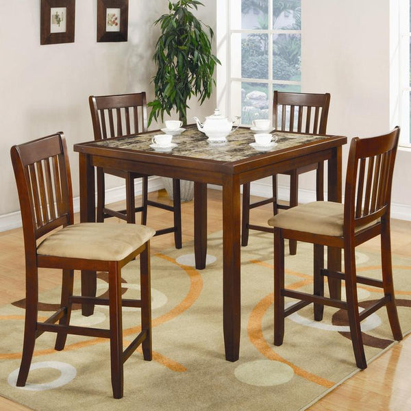 Coaster Furniture COUNTER HEIGHT 150154 DINING SET - Pankour