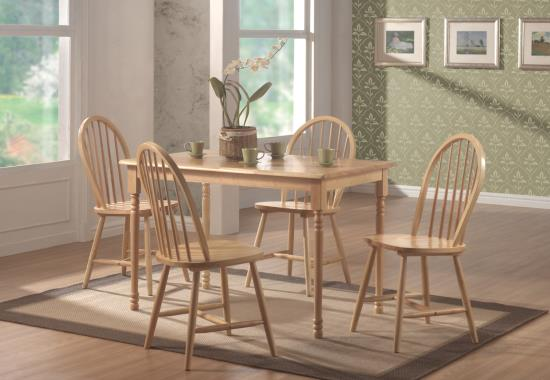 Coaster Furniture DINETTES: WOOD 4347 Dining Table - Pankour
