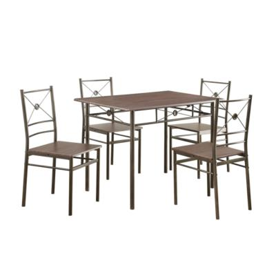 Coaster Furniture DINING: PACKAGED SETS: METAL 100033 DINING SET - Pankour