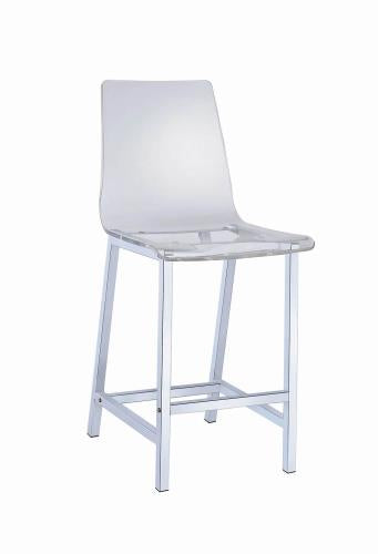 Coaster Furniture EVERYDAY DINING: STOOLS 100265 29 BAR STOOL CLEAR - Pankour