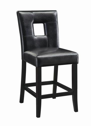 Coaster Furniture EVERYDAY DINING: STOOLS 103619BLK COUNTER HT STOOL BLACK - Pankour