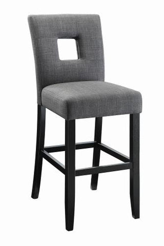 Coaster Furniture EVERYDAY DINING: STOOLS 106676 COUNTER HT CHAIR GREY & BLACK - Pankour