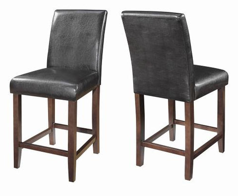 Coaster Furniture EVERYDAY DINING: STOOLS 130060 COUNTER HT STOOL DARK BROWN & WALNUT - Pankour