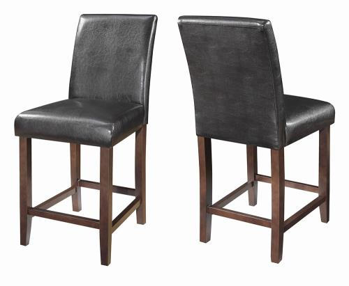 Coaster Furniture EVERYDAY DINING: STOOLS 130059 COUNTER HT STOOL DARK BROWN & WALNUT - Pankour