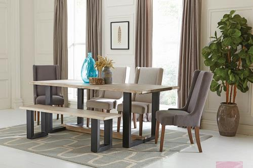 Coaster Furniture LEVINE 180181 Dining Table - Pankour