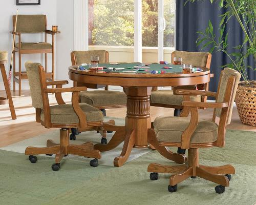 Coaster Furniture MITCHELL GAME TABLE 100952 Dining Chair - Pankour