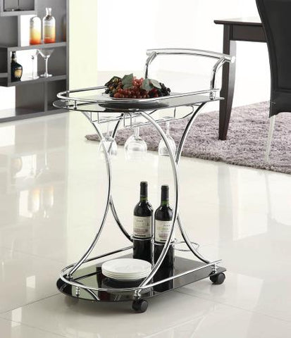 Coaster Furniture REC ROOM 910001 SERVING CART