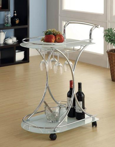 Coaster Furniture REC ROOM 910002 SERVING CART