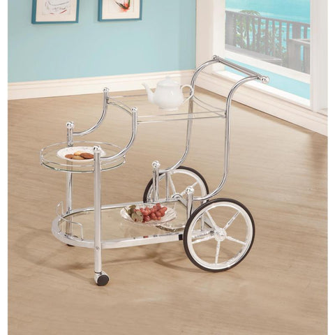 Coaster Furniture REC ROOM 910076 SERVING CART