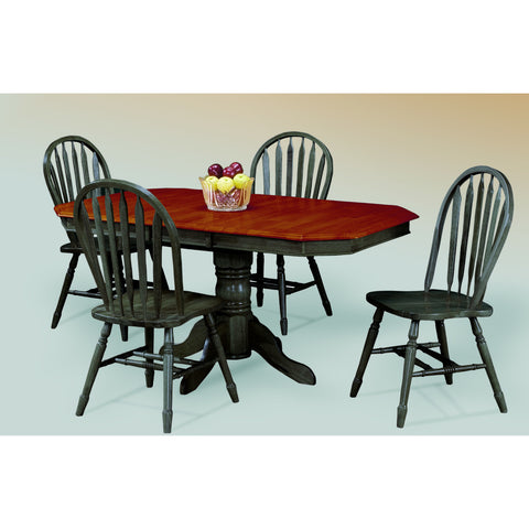 Sunset Trading 5 Piece Pedestal Extension DLU-TCP3660-820-AB5PC Set - Pankour