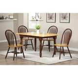 Sunset Trading 5 Piece Butterfly DLU-TLB3660-820-NLO5PC Dining Set - Pankour