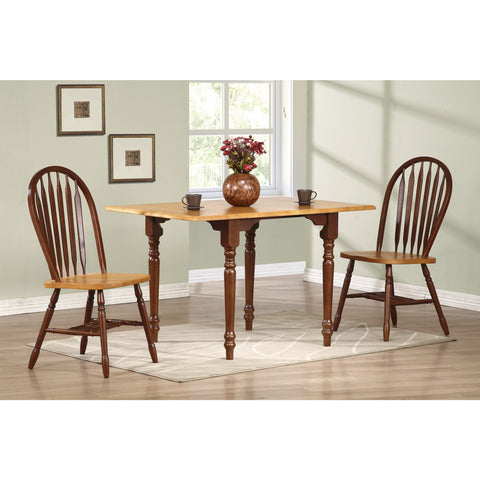 Sunset Trading 3pc Drop Leaf DLU-TLD3448-820-NLO3PC Dining Set - Pankour