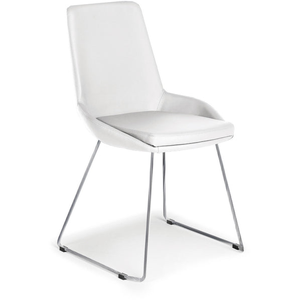 "Casabianca Laura Collection TC-2001-WH 35"" Dining Chair - Pankour"
