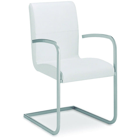 "Casabianca Stella Collection TC-2005-WH-ARM 38"" Dining Armchair - Pankour"