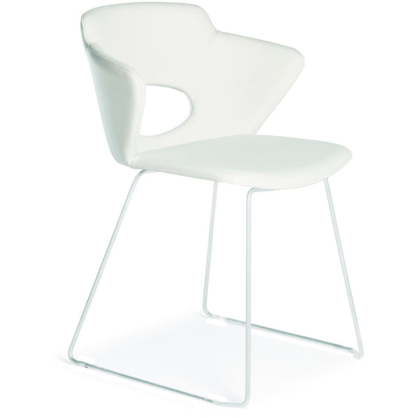 "Casabianca Piola Collection TC‑2006‑WH 30"" Dining Chair - Pankour"