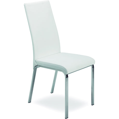 "Casabianca Lotto Collection TC-2007-WH 39"" Dining Chair - Pankour"