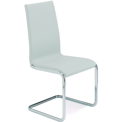 "Casabianca Aurora Collection TC-2020-WH 40.2"" Dining Chair - Pankour"