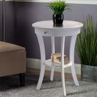 Winsome Wood 10727 Sasha Round Accent Table