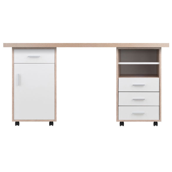 Winsome Wood 18322 Kenner 3pc Set Modular Desk